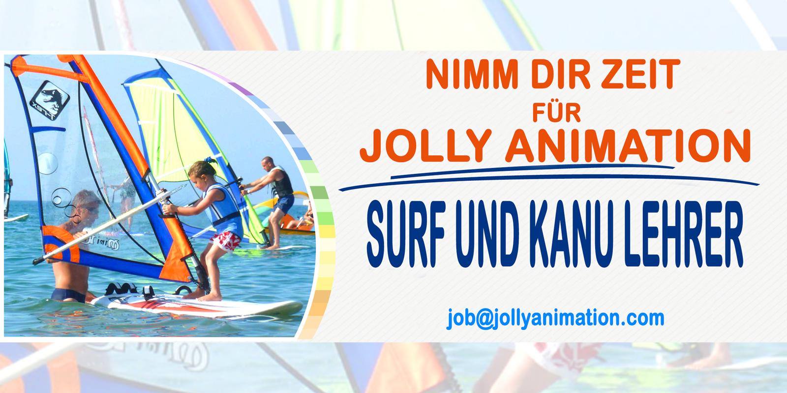 Surf und kanu lehrer