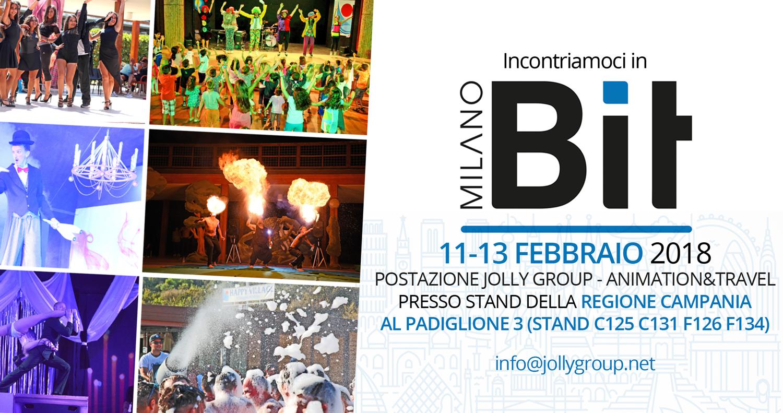 Jolly Animation ti aspetta in Bit a Milano dall'11 al 13 febbraio