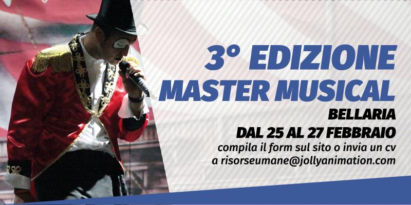 Master in Musical dal 25 febbraio