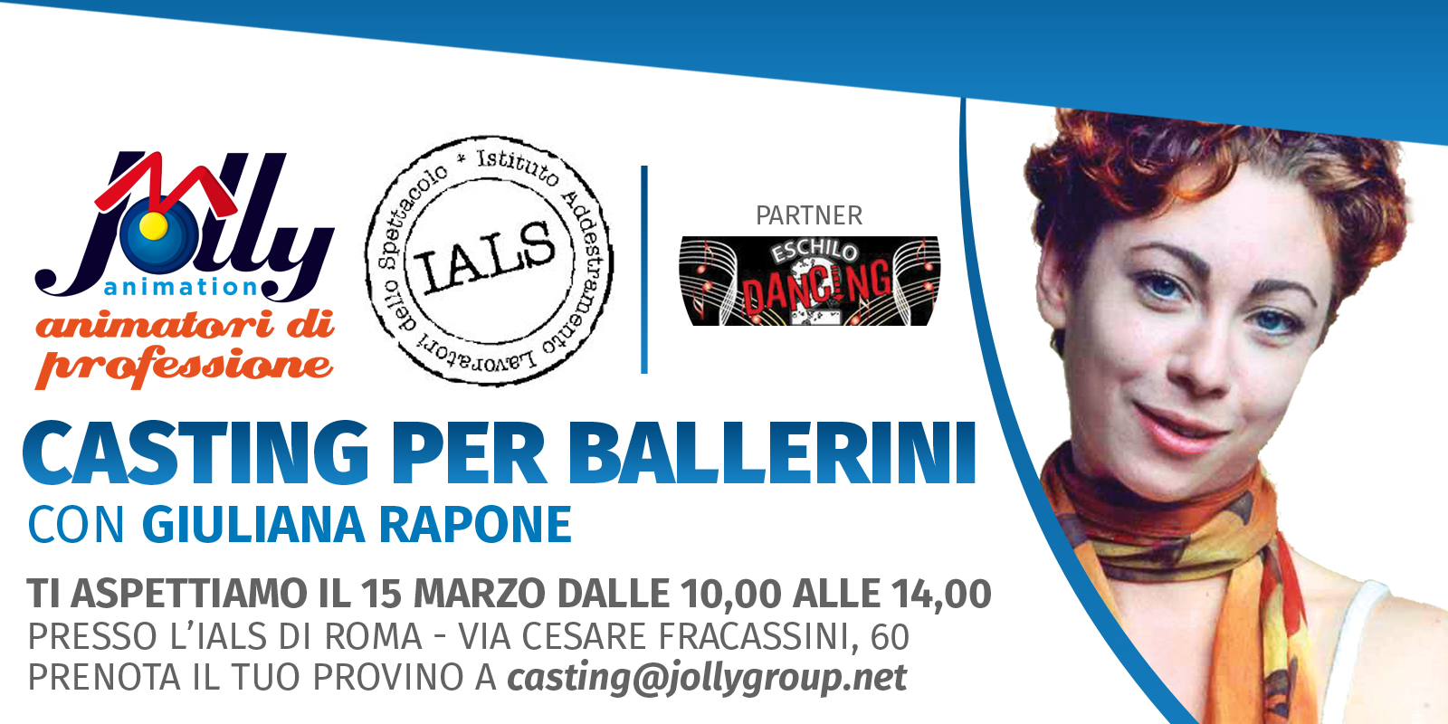 Allo IALS di Roma il casting per ballerini