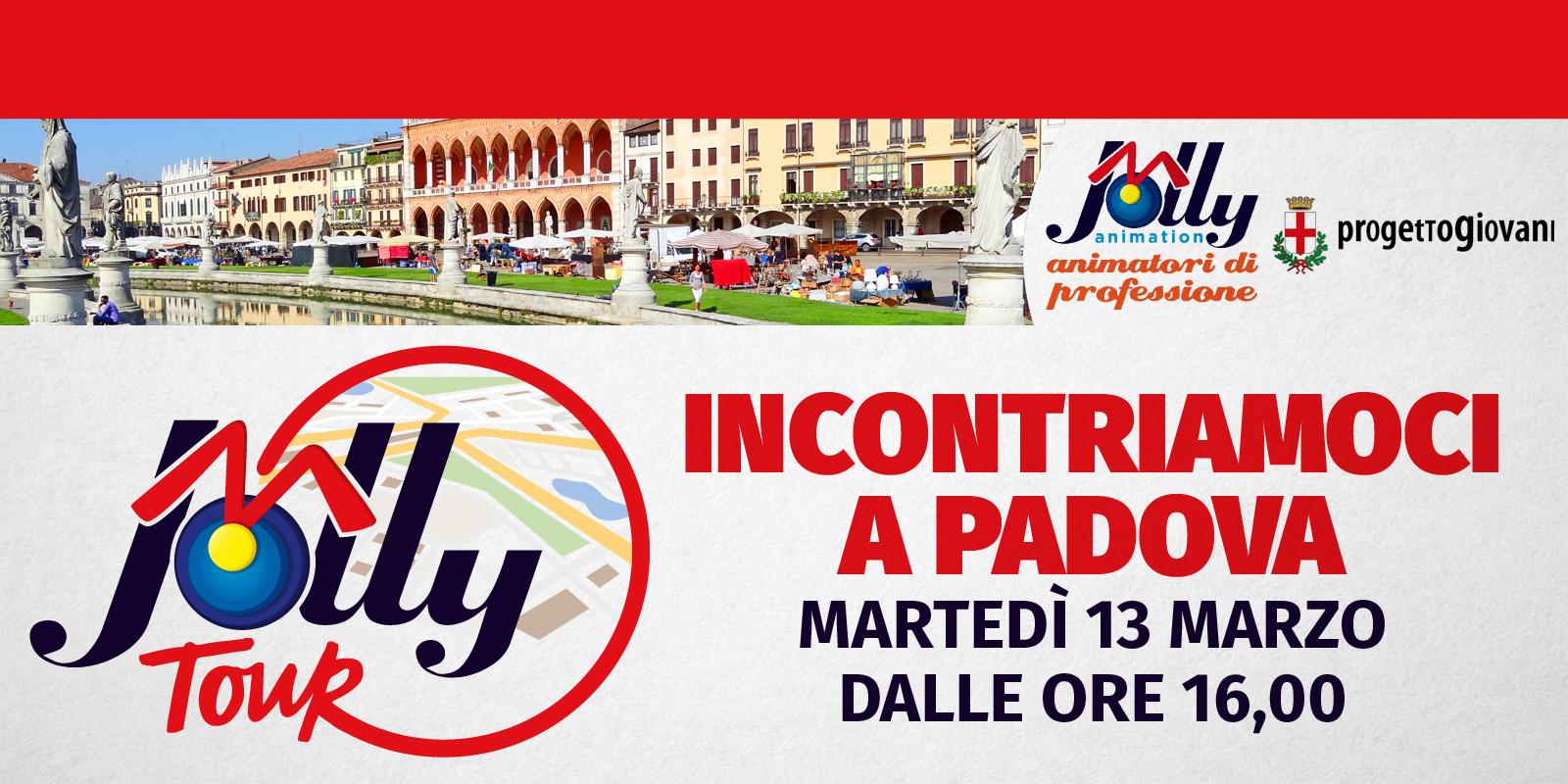 Il 13 marzo ci vediamo a Padova