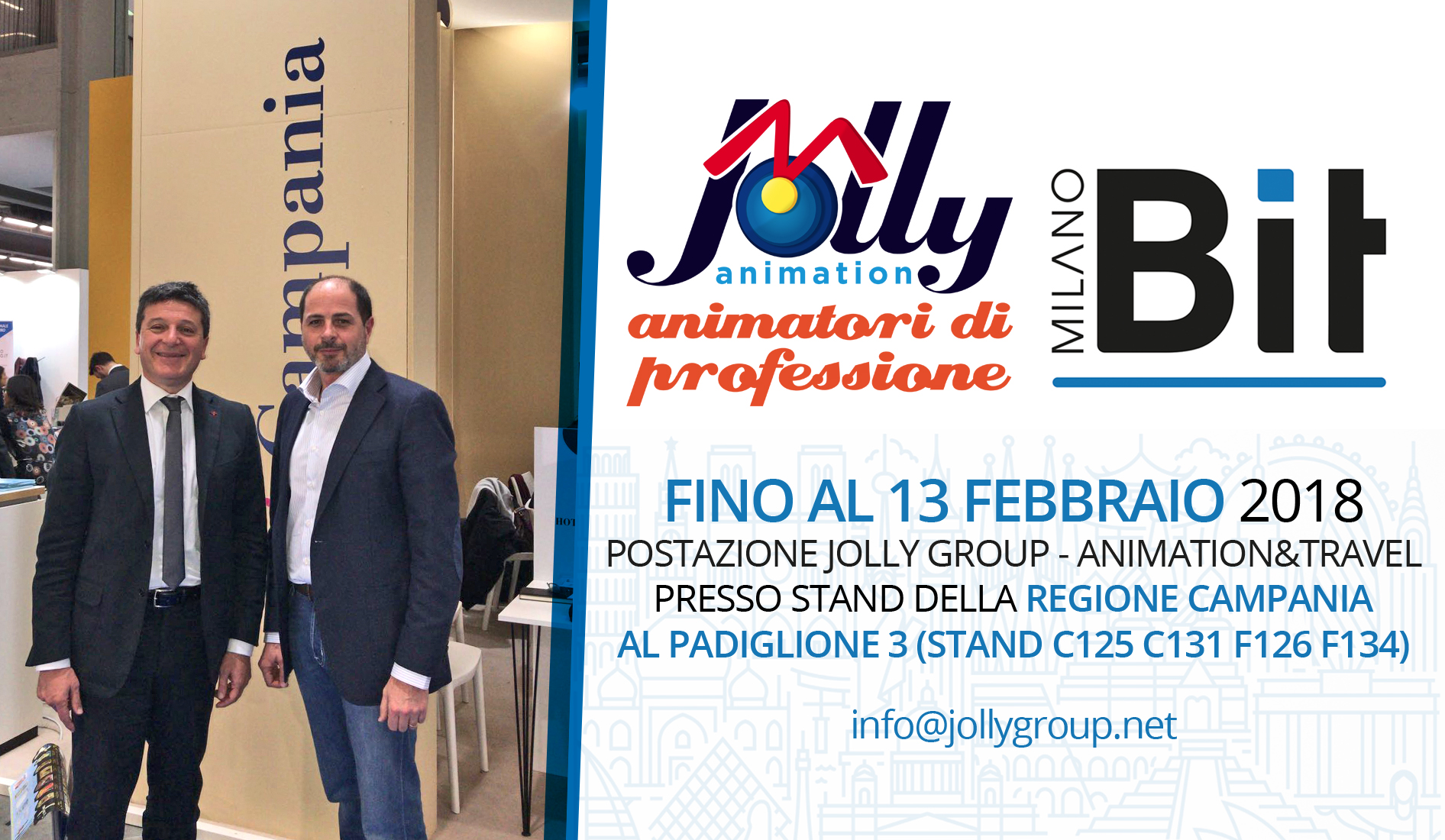 Jolly Animation fino a domani in Bit