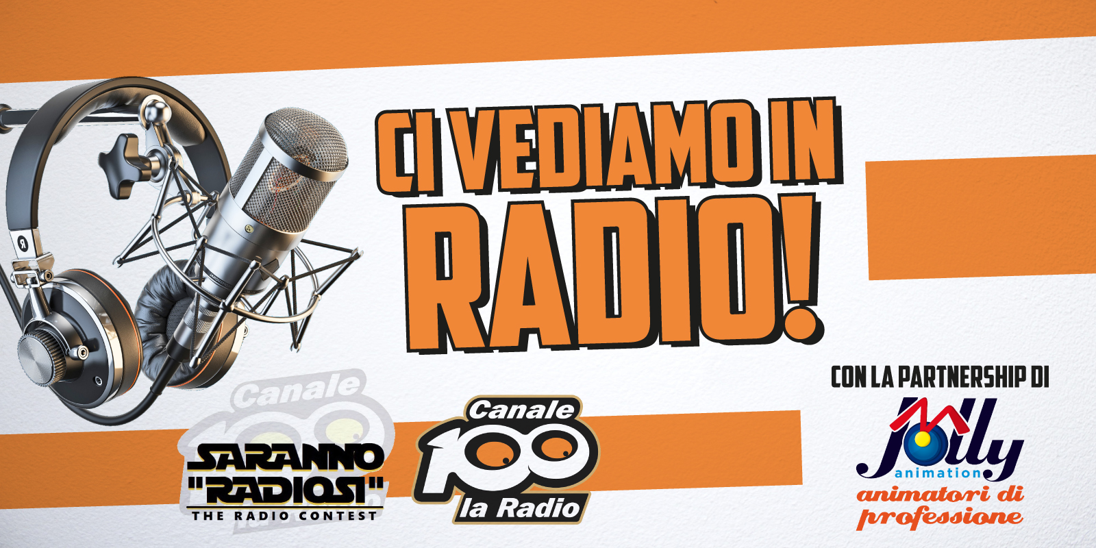 Jolly Animation partner di Radio Canale 100