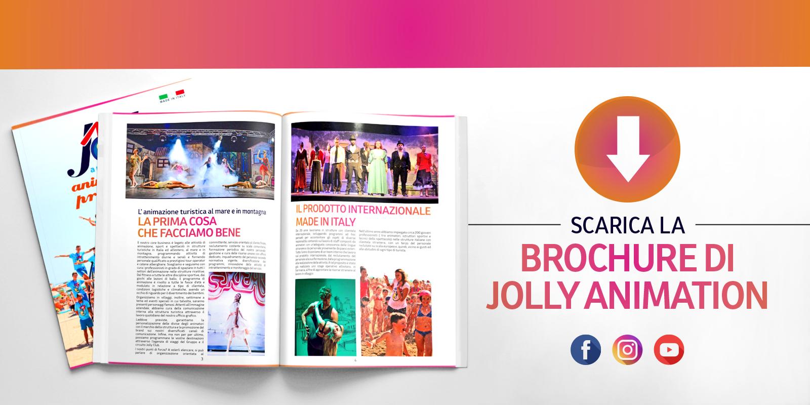 Homepage brochure Jolly Animation