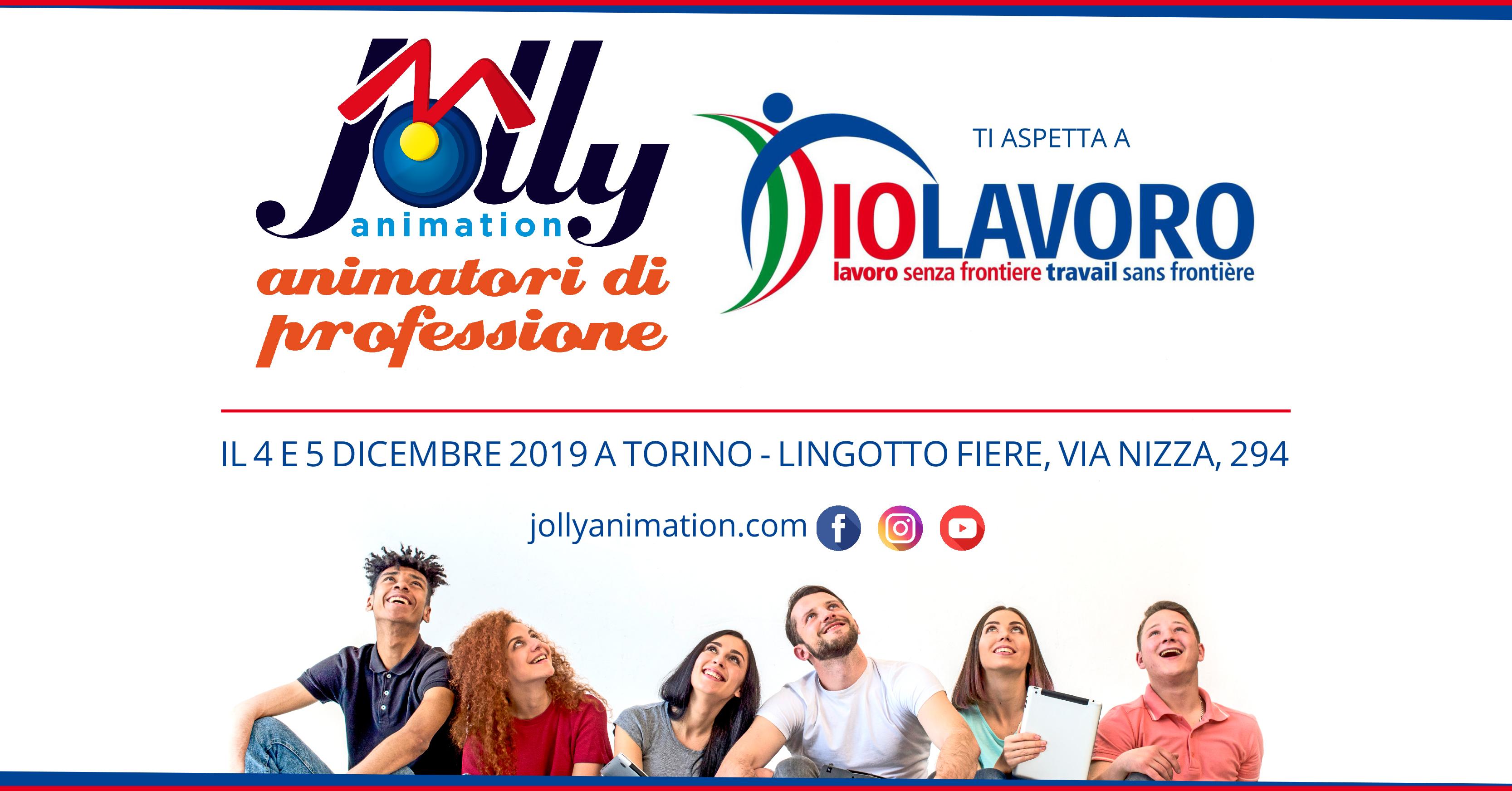 Ti aspettiamo a Io Lavoro a Torino 4 e 5 dicembre