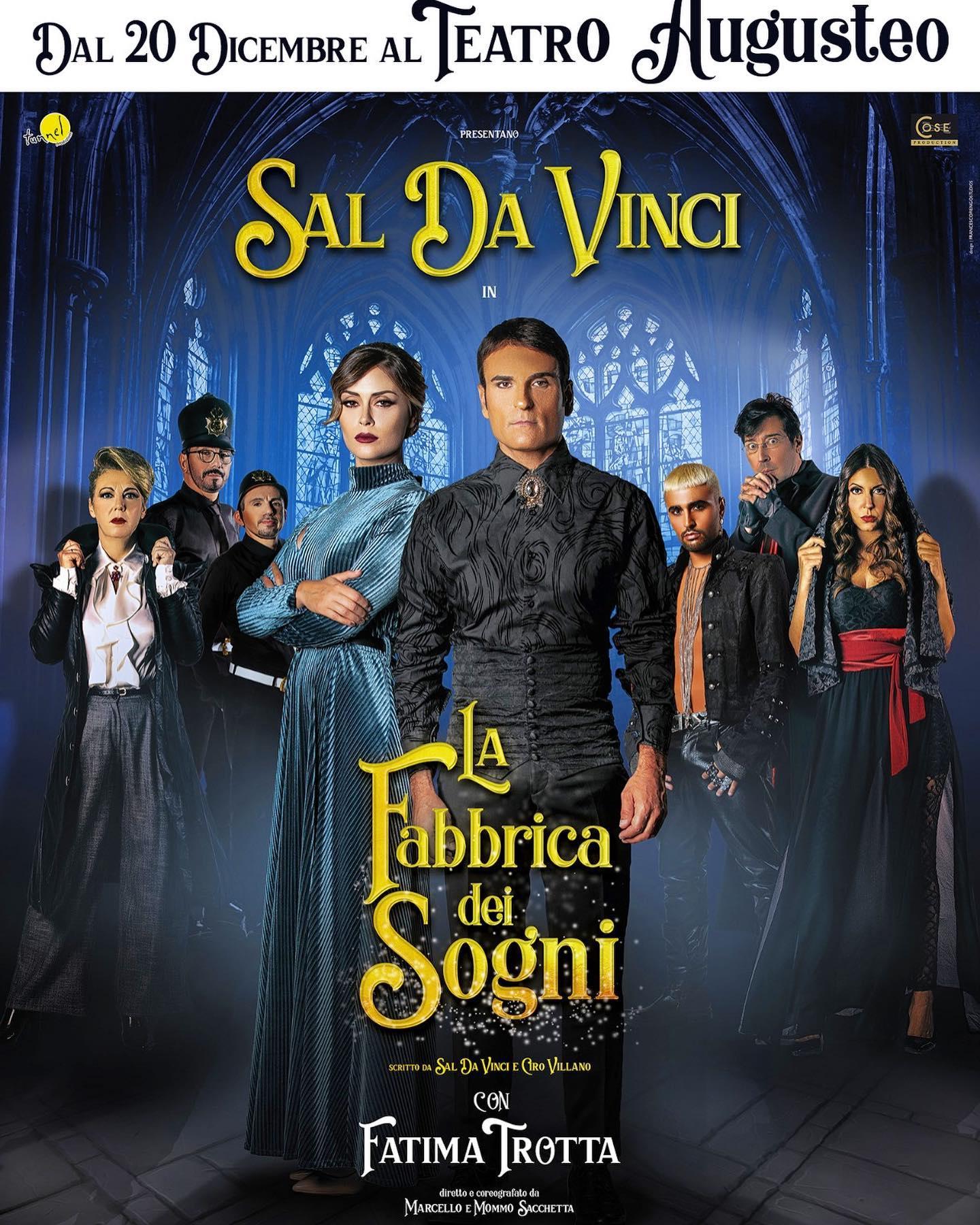 Ciro Villano torna a teatro con La Fabbrica dei Sogni