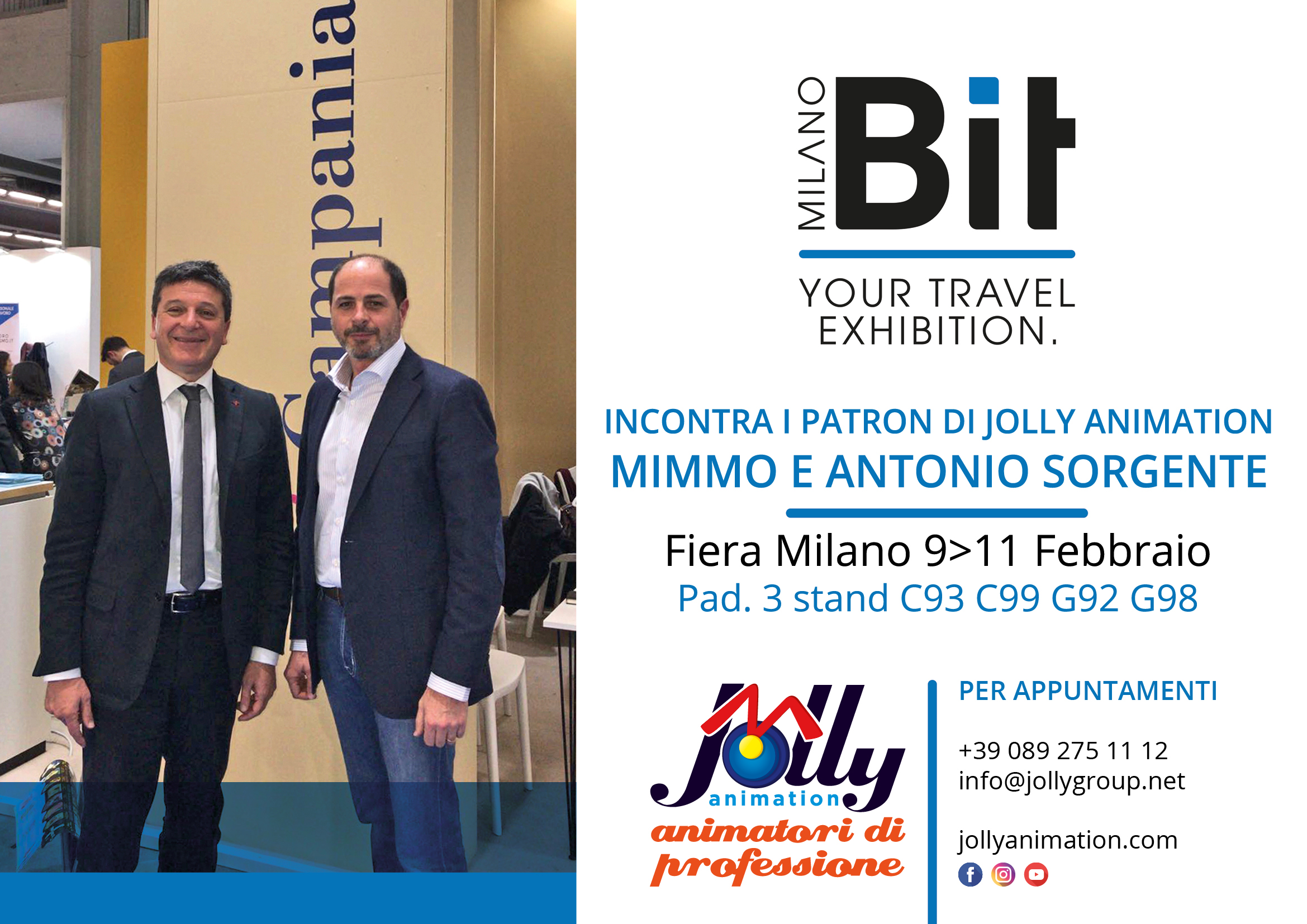 In Bit i patron di Jolly Animation Mimmo ed Antonio Sorgente
