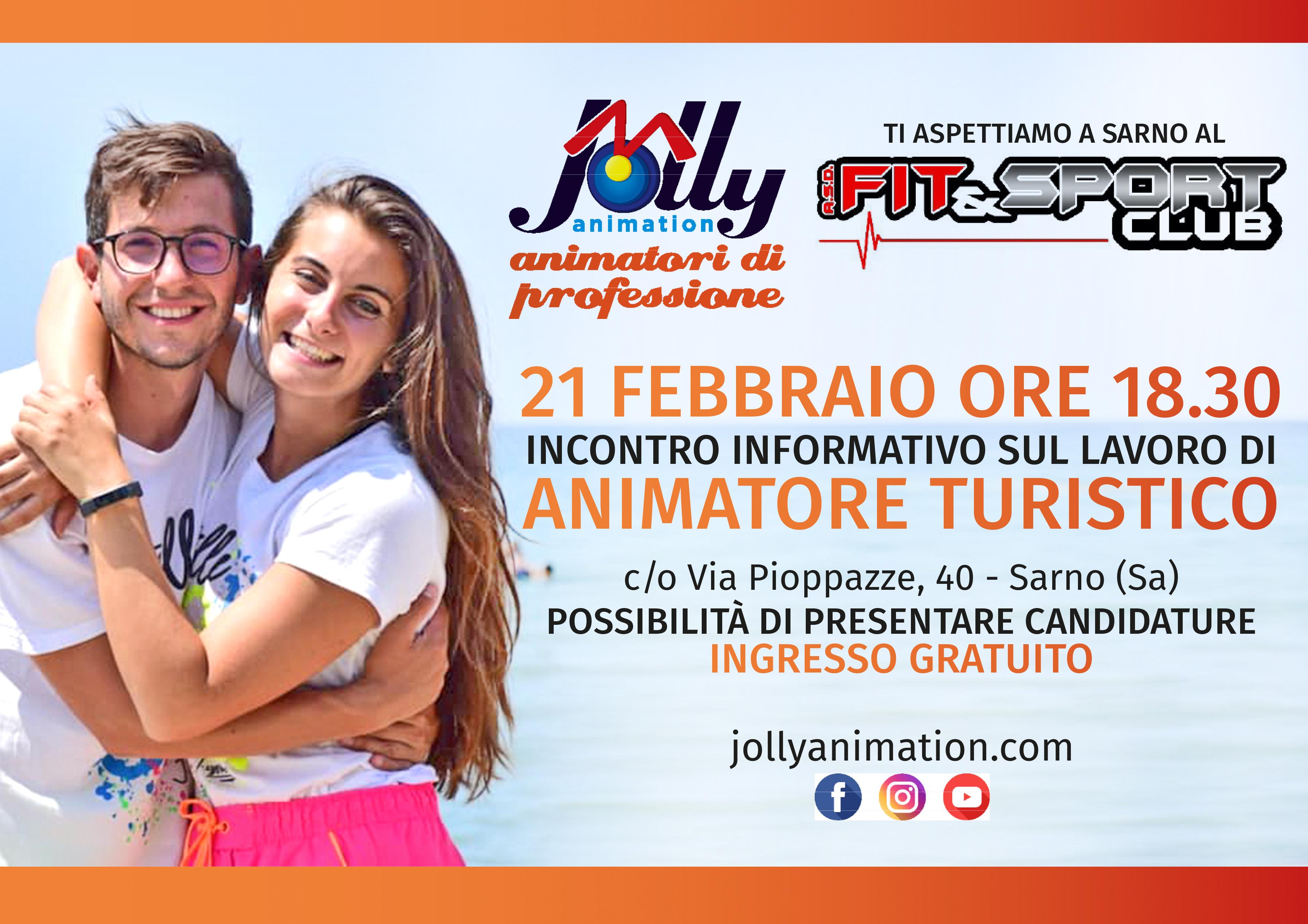 Jolly in Tour, siamo a Sarno venerdì 21 febbraio al Fit&Sport Club