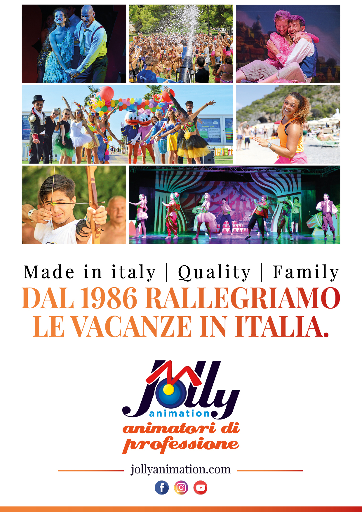 Quality, Family, Made in Italy