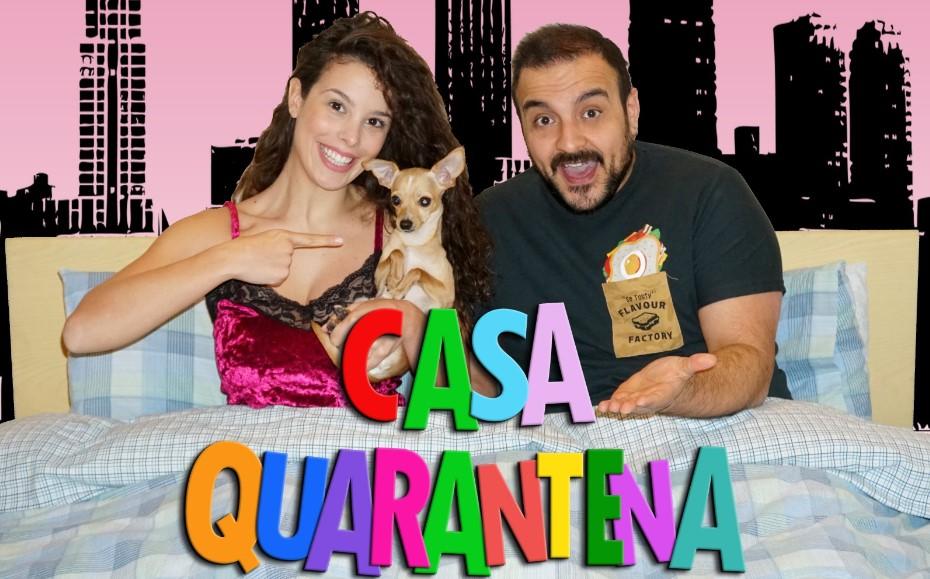 """La sit-com """"Casa Quarantena"""" con Manuel Mascolo ed Enza Botti"""