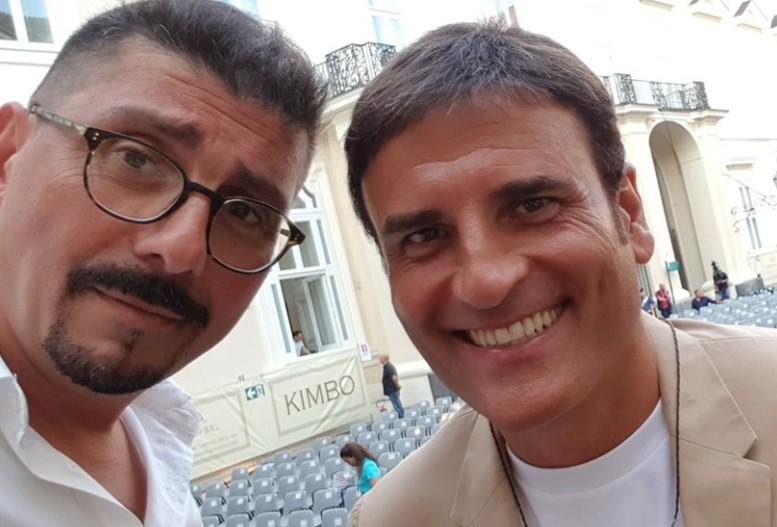 Ciro Villano e Sal Da Vinci in prima linea per l'Ospedale Cotugno