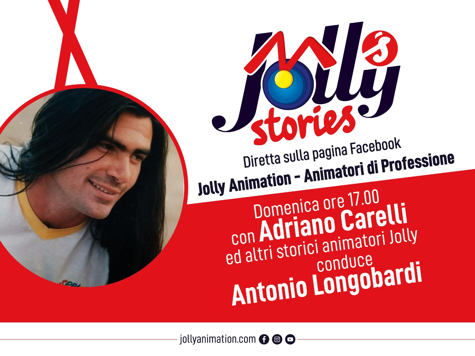 Arrivano le Jolly's Stories, le dirette su Facebook