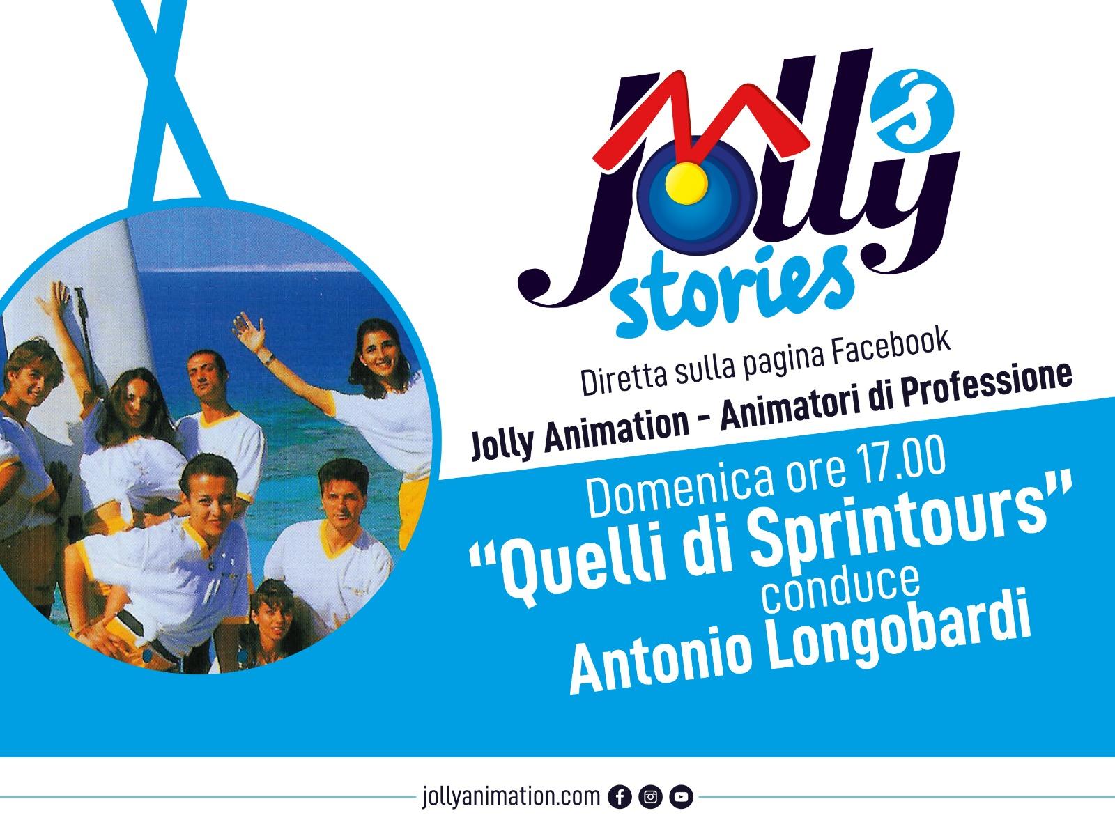 I Jolly di Sprintours in diretta su Facebook
