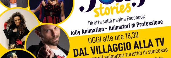 Dal villaggio alla Tv, gli animatori Jolly di successo in diretta facebook