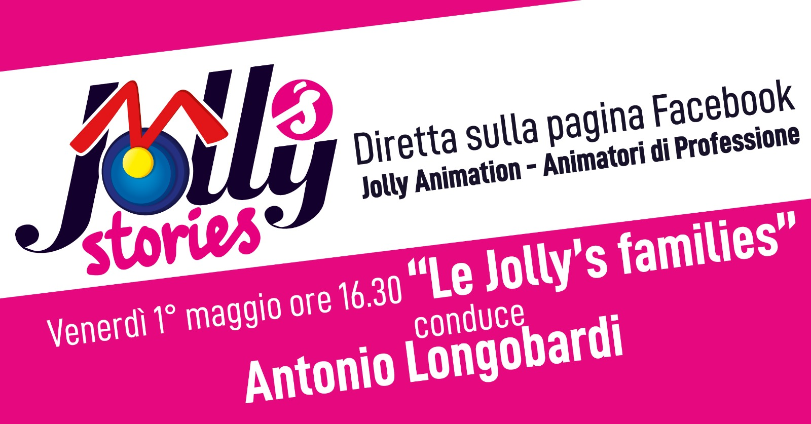 Le Jolly's Families in diretta su Facebook