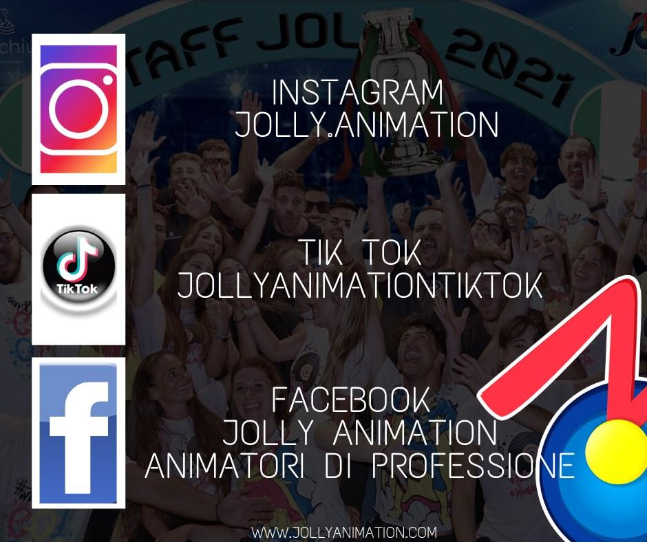 Tutte le pagine e i profili social di Jolly Animation